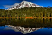 Adam Jewell - Rainier In Reflection Lake