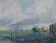 Raining On St. George Print by Susan Richardson