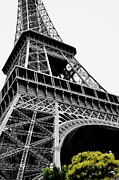 Travel Photography Painting Prints - Rainy Day in Paris Print by Cassidy Becker