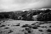 Rainy Day Photo Prints - Rainy Day In The Lake District Near Loughrigg Cumbria England Uk Print by Joe Fox