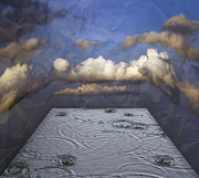 Cloudscape Digital Art - Rainy Day by Michal Boubin
