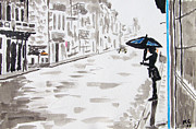 Rainy Day Mixed Media - Rainy Day New Orleans by Kevin Croitz