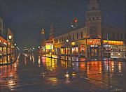 Rainy Night-117th And Detroit     Print by Paul Krapf