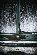 Window Sill Photo Posters - Rainy Night Poster by Margie Hurwich