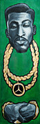 Chains Paintings - Rakim by Chuck  Styles