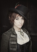 Steampunk Photos - Rakish Tilt by David April