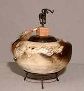 Featured Ceramics - Raku by Beth Gramith