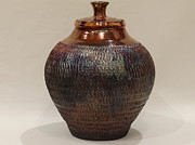 Mike Daley - Raku Urn