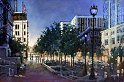 Dan Nelson - Raleigh Evening Light