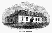1770s Prints - RALEIGH TAVERN, 1770s Print by Granger