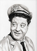 Collar Drawings - Ralph Kramden by Fred Larucci