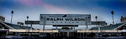 Ralph Framed Prints - Ralph Wilson Stadium Framed Print by Ken Marsh