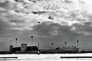 Www.guywhiteleyphoto.com Photos - Ralph Wilson Stadium - Off Season by Guy Whiteley