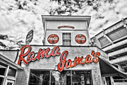 Alabama Crimson Tide Prints - Rama Jamas Print by Scott Pellegrin