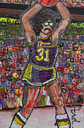 Sports Art Paintings - Rambo by Mike Harder