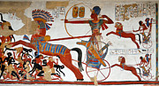 Pharaoh Posters - Ramesses II in battle Poster by RicardMN Photography