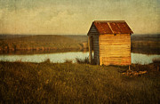 Grungy Prints - Ramshackle Print by Amy Weiss