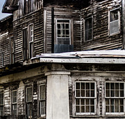 Haunted House Digital Art - Ramshackle by Kristen Garlow Piper