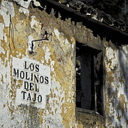 Abandoned Houses Framed Prints - Ramshackled Los Molinos Framed Print by Heiko Koehrer-Wagner