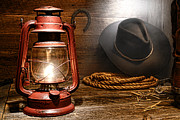Kerosene Lamp Photos - Ranch Light by Olivier Le Queinec