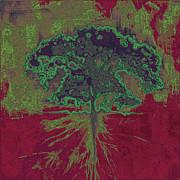 Ranch Tree Print by Andrea Carroll