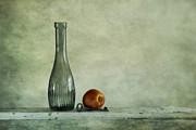 Glass Bottle Metal Prints - Random Still Life Metal Print by Priska Wettstein