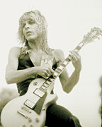 Concert Photos Art - Randy Rhoads Day on the Green - Latest Unreleased One with normal Sky background by Daniel Larsen