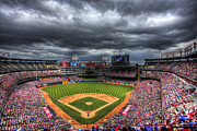 Nolan Ryan Prints - Rangers Ballpark in Arlington Print by Shawn Everhart
