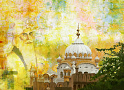 S Palace Paintings - Ranjit Singhs Samadhi by Catf