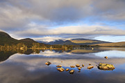 Rannoch Photo Prints - Rannoch Moor Loch na h-Achlaise Print by Colin and Linda McKie