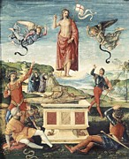 The Resurrection Of Christ Posters - Raphael 1483-1520. Resurrection Poster by Everett