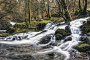 Wales Digital Art - Rapids - North Wales by George Standen