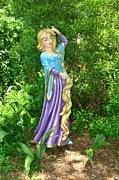 Childrens Literature Prints - Rapunzel in Storyland Print by Margaret Bobb