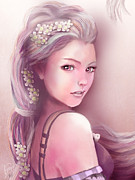 Portraits Digital Art - Rapunzel by Jason Longstreet