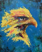 Eagle Painting Originals - Rare Eagle by John Henne