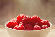 Fruits Art - Raspberries  by Diana Kraleva