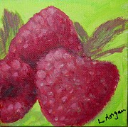 Laurie Morgan - Raspberries Miniature