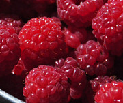 Food And Beverage Photo Originals - Raspberry crave by Elena Hasnas