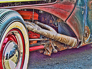 Ron Roberts Photography Greeting Cards Prints - Rat Exhaust Print by Ron Roberts