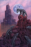 Buildings Originals - Rat Plague by Alan  Hawley