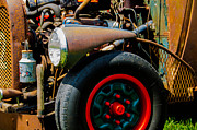 Rodent Prints Posters - Rat Rod Fender Poster by Ron Roberts