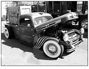 T Bucket Rat Rod Posters - Rat Rod Hot Rod Poster by Kip Krause