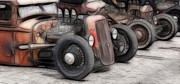 Viva Las Vegas Photos - Rat Rods Art by Steve McKinzie