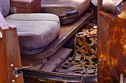 Rusted Cars Photos - Ratrod  by Juls Adams