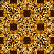 Rattlesnakes Prints - Rattlesnake Abstract 20130204p0 Print by Wingsdomain Art and Photography