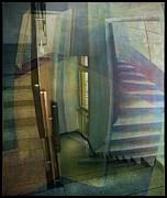 Raumirritation 35 Print by Gertrude Scheffler