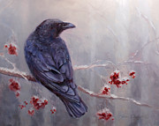 Karen Whitworth - Raven in the Stillness