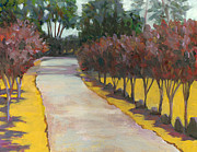 California Vineyard Paintings - Ravenswood Winery Passage by Dena Cornett