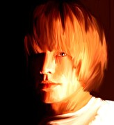 Mick Originals - Raw Stone Brian Jones by Iconic Images Art Gallery David Pucciarelli