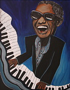 Kate Fortin - Ray Charles on Piano